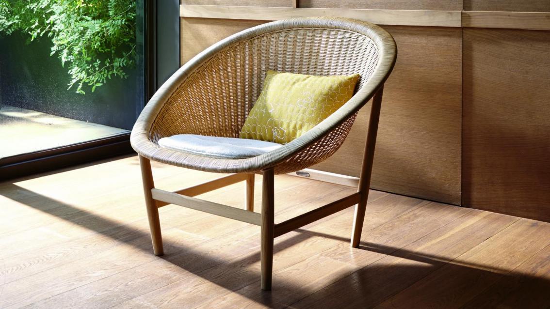 Basket lounge zetel for Lounge zetel