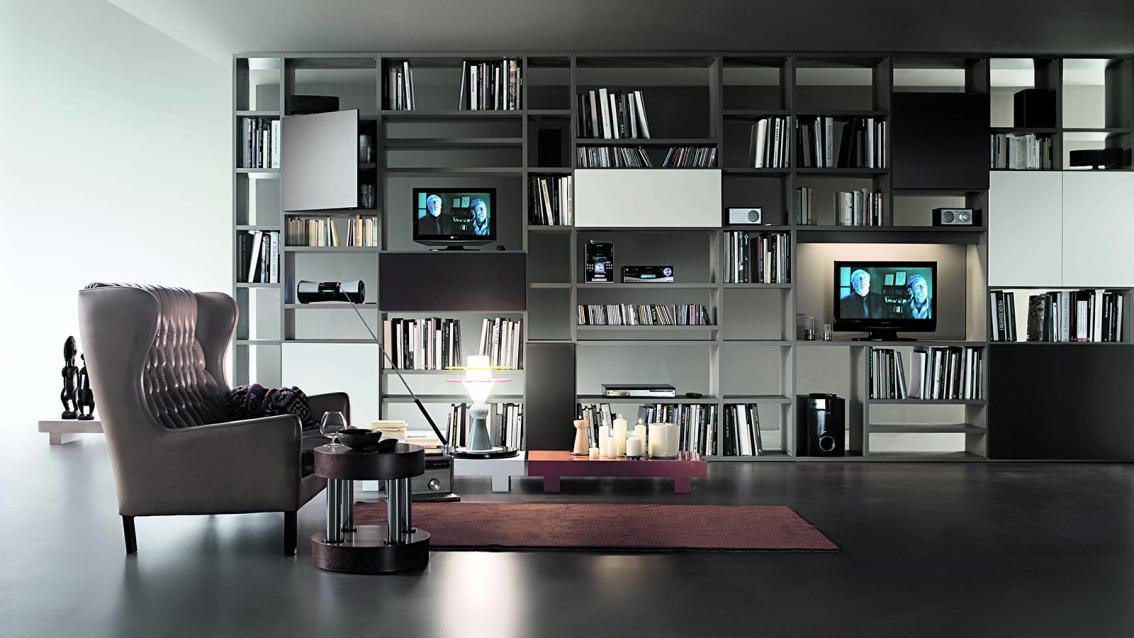 Selecta tv meubel feelathome - Librerie arredo design ...