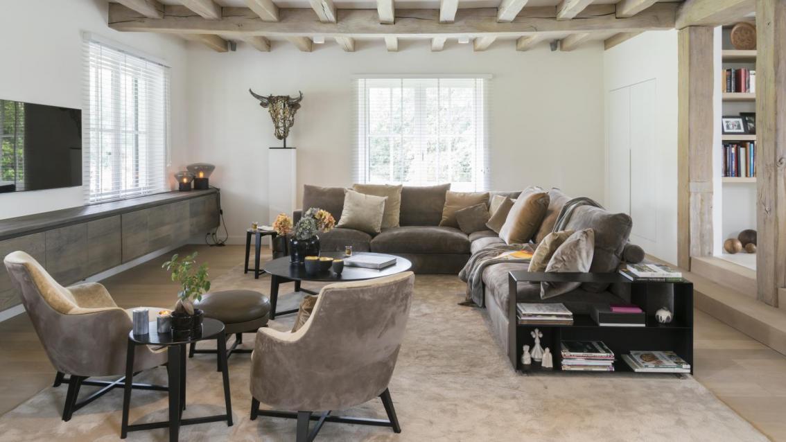Warm en naturel feelathome - Interieur oud huis ...