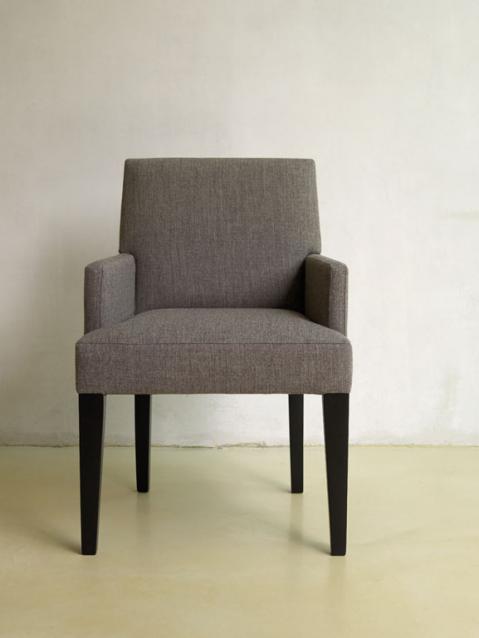 Stoel Met Leuning : Seaton stoel met armleuning feelathome